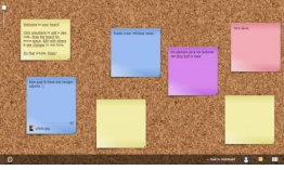 NoteApp: tablero online infinito para colocar notas de tipo post-it