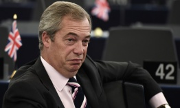 "Nigel Farage cree que Donald Trump no será un ""ogro"""