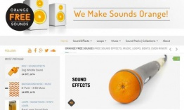 Orange Free Sounds: muchos sonidos gratuitos para descargar
