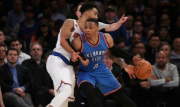 Russell Westbrook sigue al frente de los anotadores en la NBA