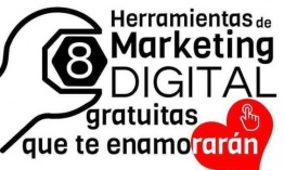Aplicaciones fabulosas y gratuitas de marketing digital. Infografía