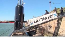Encontrado el submarino argentino