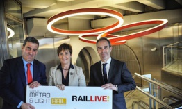 "Cuenta atrás para el ""Live Rail y el 14th World Metro & Light Rail Bilbao 2018"""