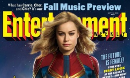 Capitana Marvel: Entertainment Weekly revela primeras imágenes