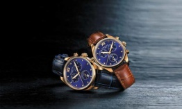 Azul brillante y precisión cronográfica: Certina DS-8 Lady Chronograph