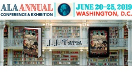 J. J. Tapia asistirá a la Feria de Bibliotecas de Washington D. C. como Finalista de los International Latino Book Awards